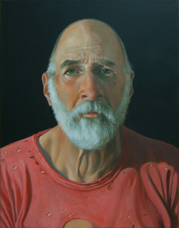 David Schulz self-portrait